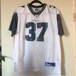 """NFL Seahawks Jersey #37 """"Andrew"""" Youth XL (18-20)"""
